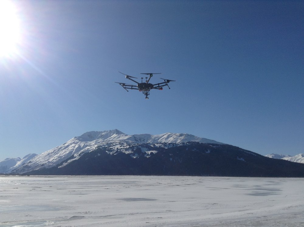 Our Matrice 600 Pro hexacopter with zoom and thermal cameras is uniquely suited for rugged inspection work.