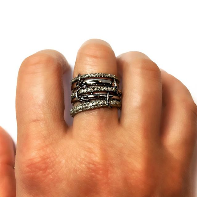 💥👊🏻💥 www.nicolehdjewelry.com  #ring #sterlingsilver #diamonds #love #style #nicolehdjewelry