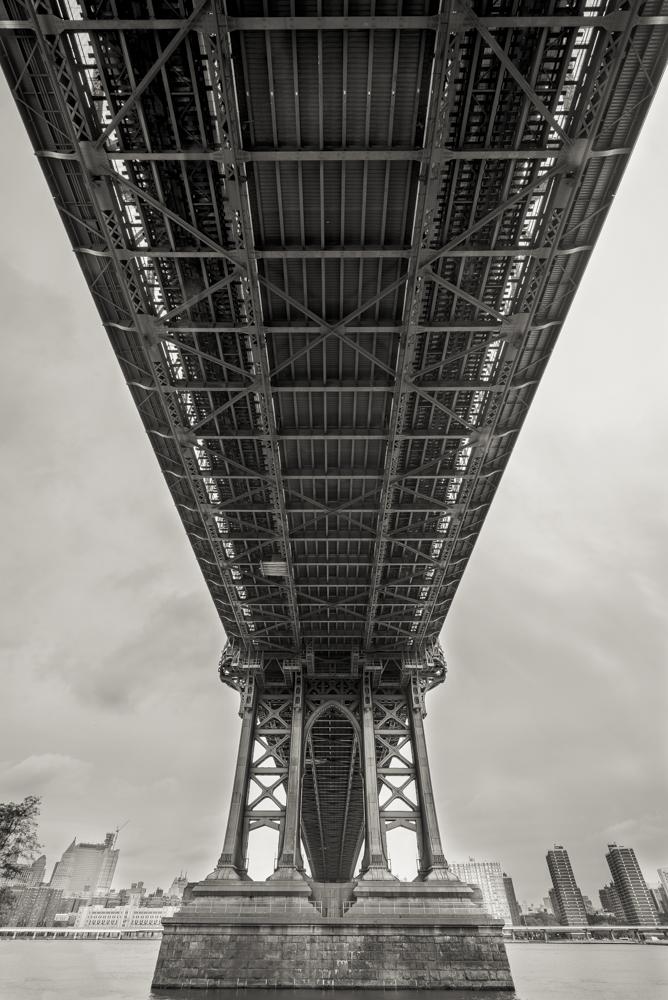 Manhattan Bridge B&W