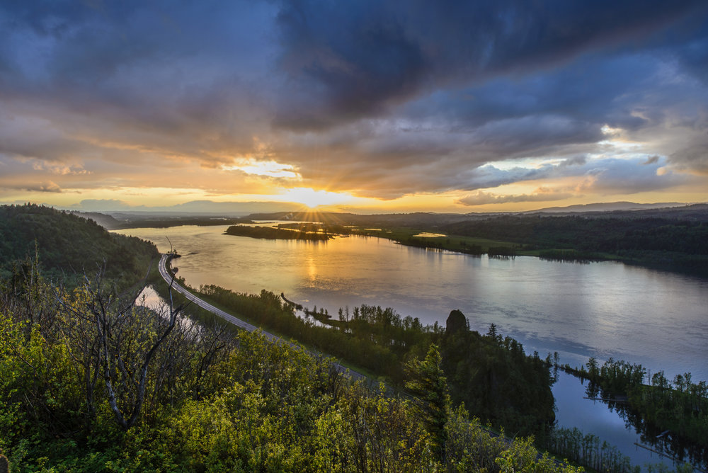 Columbia River Sunset