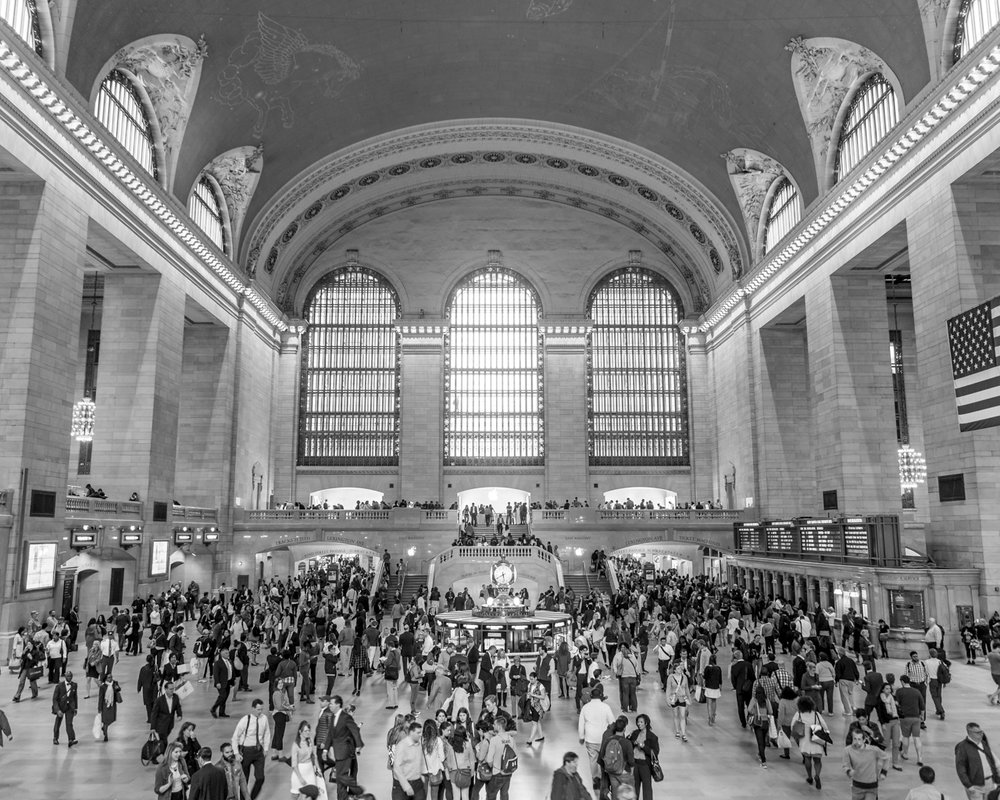 Grand Central Crowd