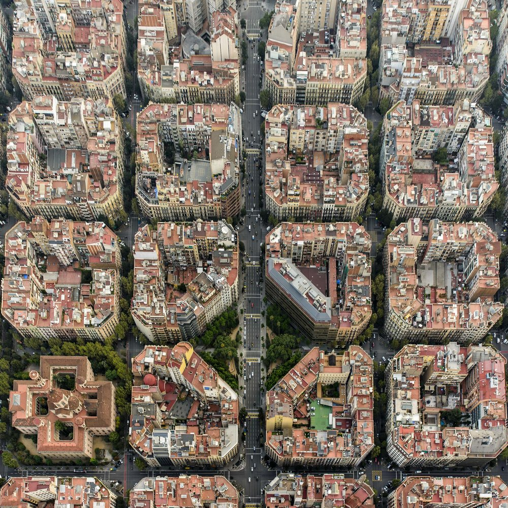 Life from Above - Barcelona