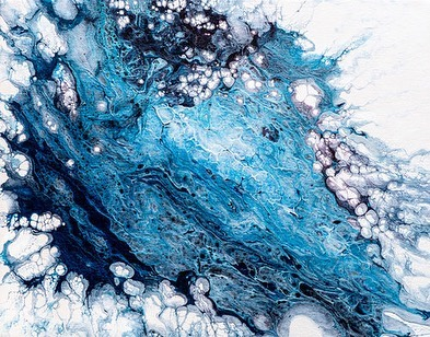 🎁🎄We are excited to have the work of talented Artist Brittany Crist from Poured Out – Art From the Heart at our 2018 Holiday Shop.  She creates beautiful works using watercolor,  acrylic, and mixed media pouring technique. Each one of her pieces reveals a new experience each time you gaze at it. Images 1: Blue Cosmo | Metal Print | 11 x 14 in.  Image 2: Set of 4 Blue Ornaments  Stop by during our extended hours and get these beauties! ★★★★ The Center for Architecture & Design  1315 E 7th Ave., Suite 105 | Tampa, FL Extended Hours: Saturday: 3:00 - 8:00 pm Sunday: 3:00 - 7:00 pm Can't make it to our store? Shop online at www.tbfad.com/2018-holiday-shop/