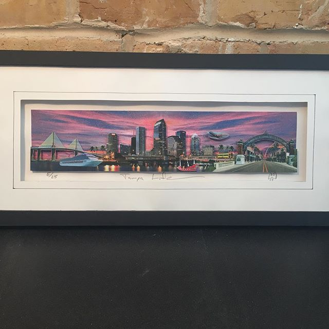 These beautiful Tampa Life Silhouettes made by David Weissberg are available in our 2018 Holiday Shop!  Using the 3D process, Mr. Weissberg cut and layered multiple images to create this 3D Pop Art Collage.  This collage features approximately twenty different images that pays tribute to the architecture of Tampa.  It includes the high-rise buildings in downtown Tampa, as well as the historic old quarters of Ybor City, and the cable-stayed Sunshine Skyway Bridge of Tampa Bay.  Bring joy to a loved one with one of these beauties, while supporting our local talent and non-profit @TampaBayFAD ★★★★ The Center for Architecture & Design  1315 E 7th Ave., Suite 105 | Tampa, FL Regular Hours: Mon-Fri: 10:00 am - 4:00 pm Extended Hours Saturday: 4:00 - 7:00 pm  Can't make it to our store? Shop online at www.tbfad.com/2018-holiday-shop/  #TBFAD #AIATampaBay #tampaflorida #tampabay #tampa #instatampa  #stpete #stpetersburg #clearwater #fl #love #southtampa #tampaarts #tampafl #stpetebeach