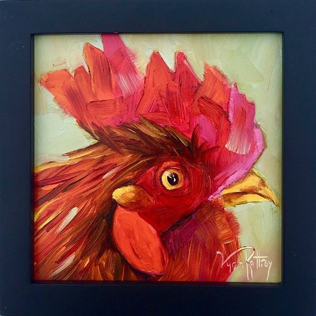 These beautiful paintings by talented local artists Lynn Rattray @lynnrattrayabstractart capture part of the charm of our town! An award-winning artist, Lynn's penchant for color and painterly strokes results in bold  and touching work, as life itself vividly takes up residence on her canvas. Her intention is to capture the viewer's imagination and bring joy! 🐓She's also a volunteer at the Ybor Chicken Society @Yborchickens , and in her 2019 calendar, she introduces the characters in the Ybor City chicken world along with their fun and quircky adventures! 📸 1:  The Boss | Oil | 6x6 in. | $95 (Sold out) 📸 2: Center Stage | Oil | 6x6 in. | $95 📸 3:  Penelope| Oil | 6x6 in. | $95 (Sold out) 📸 3:  2019 Ybor Chicken Calendar| $30  Bring joy to a loved one with Lynn's fun works, while supporting our local talent and non-profit @TampaBayFAD ★★★★ The Center for Architecture & Design  1315 E 7th Ave., Suite 105 | Tampa, FL Regular Hours: Mon-Fri: 10:00 am - 4:00 pm Extended Hours Saturday: 4:00 - 7:00 pm  Can't make it to our store? Shop online! Click our bio link.