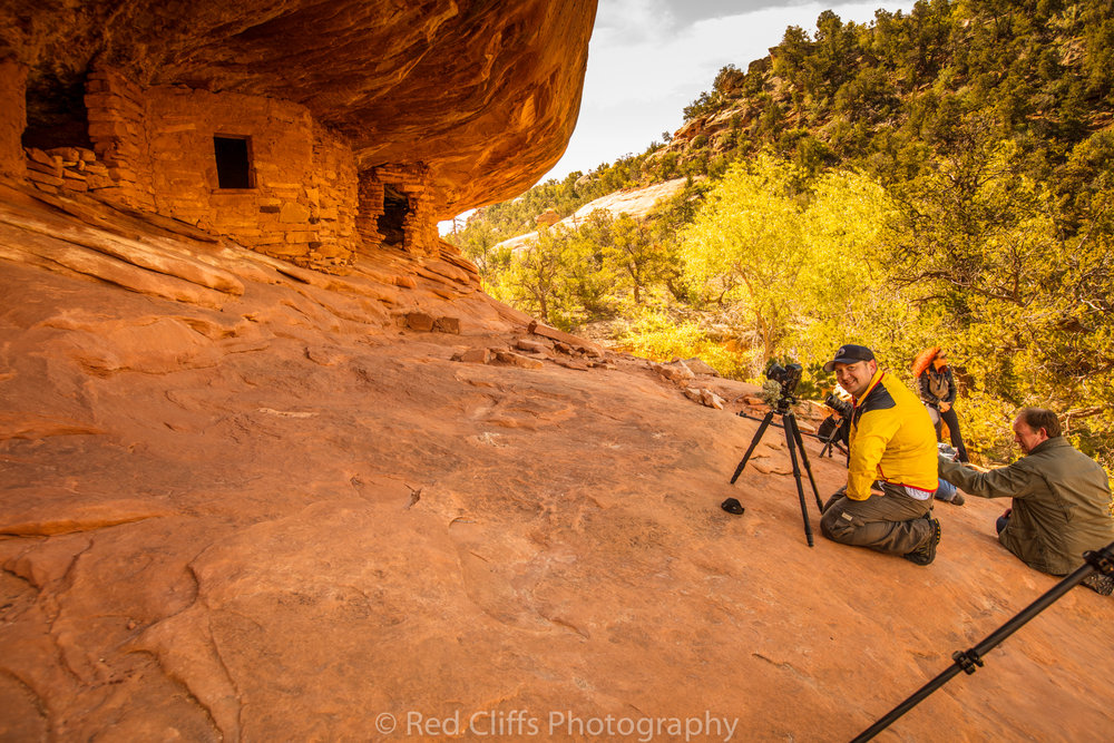 This is a popular spot for many photographers to visit in this area. The short 1.1 mile hike into the ruins is easy and most people have no problem making the hike in. I also attempted to hike into fallen roof ruin but bad weather caused me to return as I was not dressed for snow.