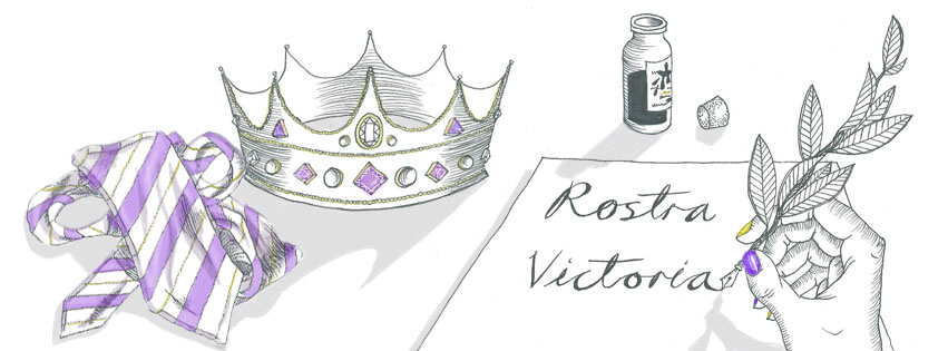 Have queries or wish to write for Rostra? Our email is rostra@vuwpolsoc.com Art by Bea Wooding