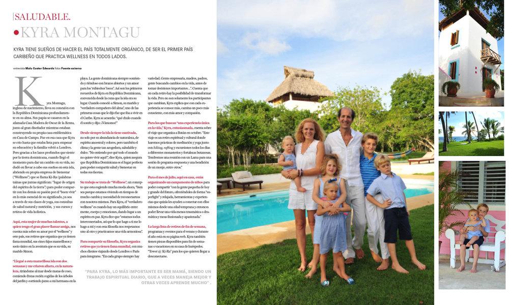 RITMO SOCIAL - LISTIN DIARIO    A feature article in the lauded  Ritmo Social  magazine, belonging to the Dominican Republic's most established newspaper,  Listin Diario.   Descargar PDF Aqui