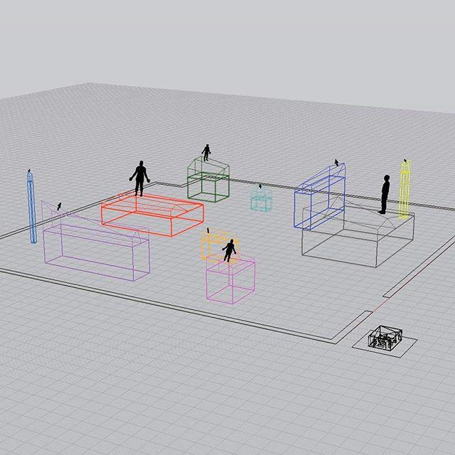 @davidbrucestudios @matta.studio #colab #land #figure #silent #inquiry #wip #prototype #installation #sculpture