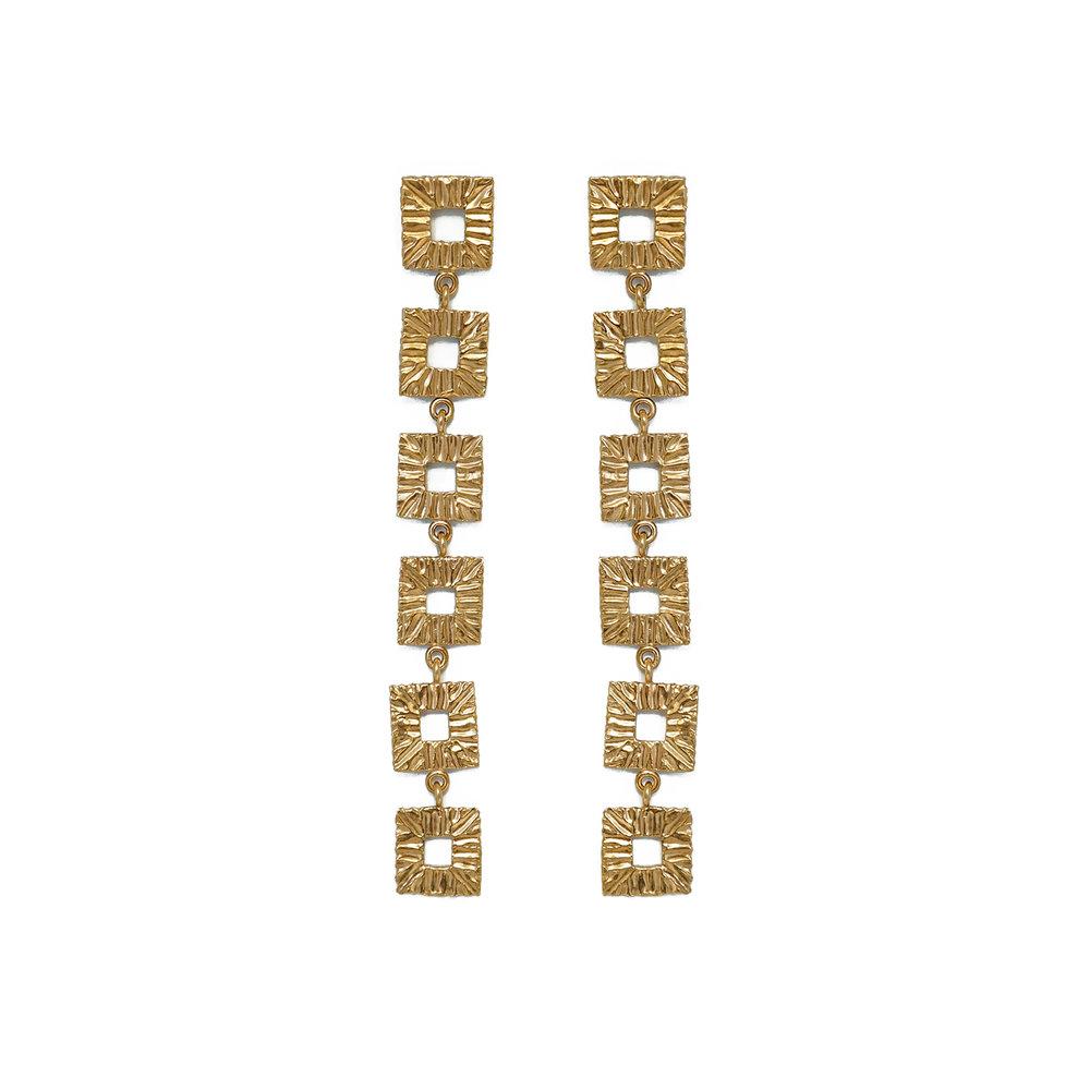 Alexandra Dodds Jewellery Utopia Stud Gold