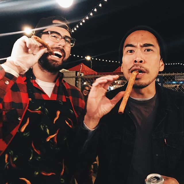 #lumpia #cigar #bosses #nightmktcle