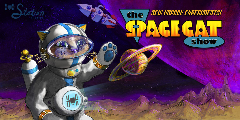 THE SPACECAT SHOW  THURSDAYS 8:00PM