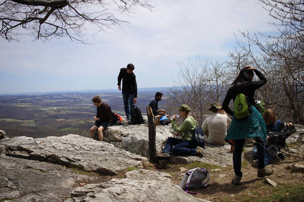 Hiking trip to Hawk Mountain