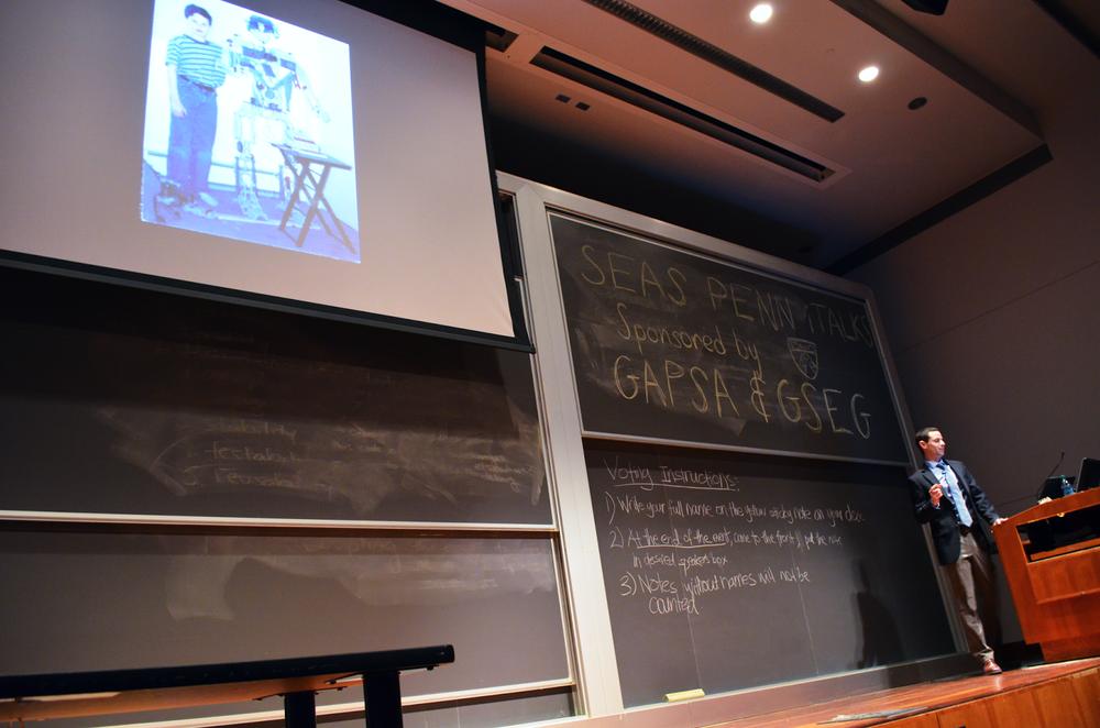 Presenting at Penn iTalks