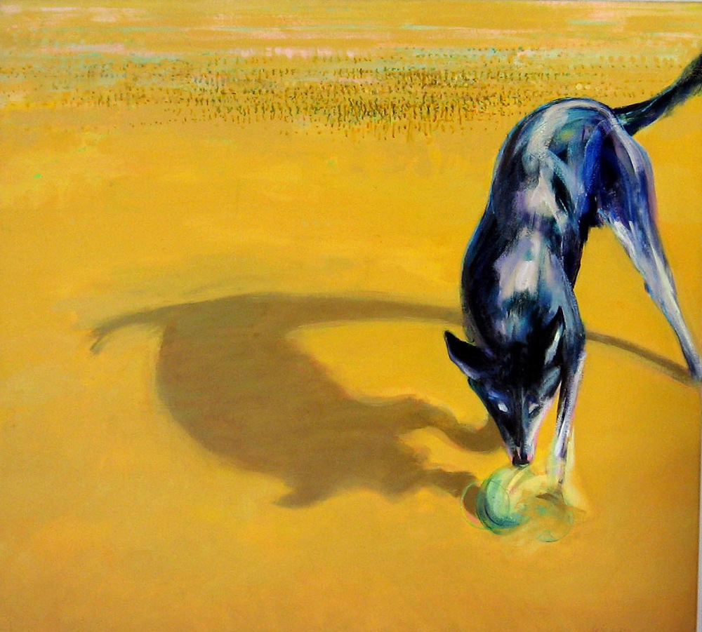Dog VII oil on canvas 110 x 132cm