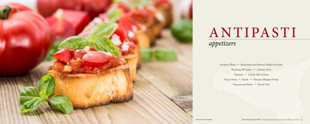 antipasti (appetizers)