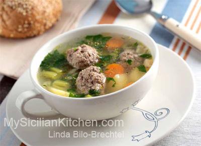 Noni's Meatball Soup