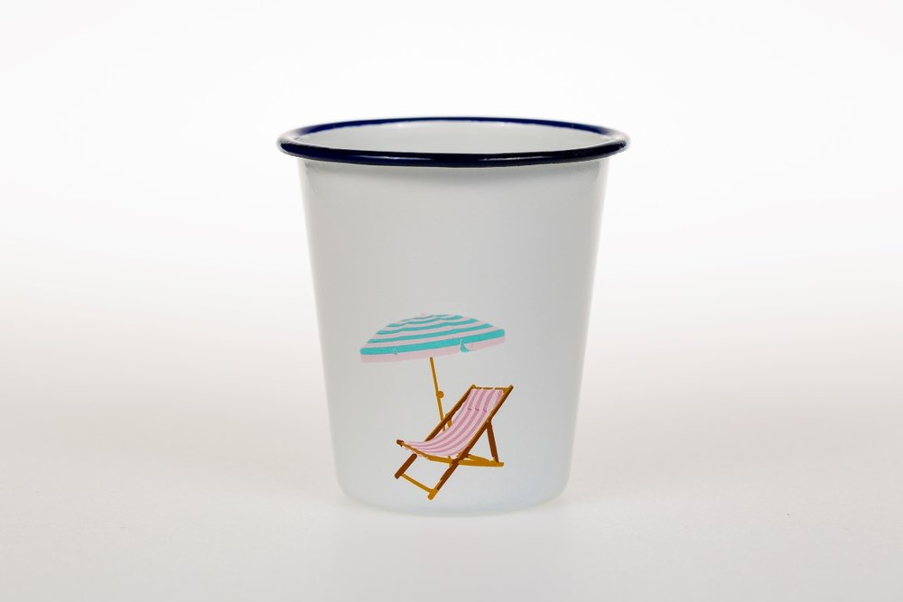 Enamel Tumbler by My Beach Kitchen