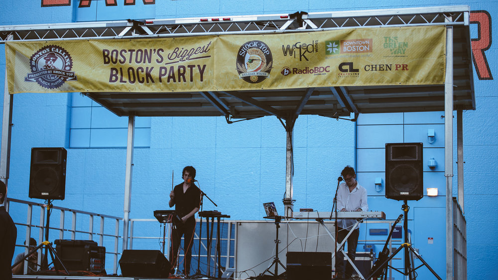 Sleeping Lion Live @ Boston Calling Block Party 9/08/2016