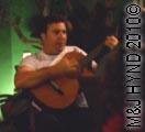 spain, valverde, Indalecio Spanish guitar performer plays flamenco