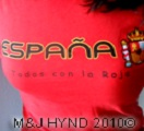 spain football world cup 2010 red espana tanktop