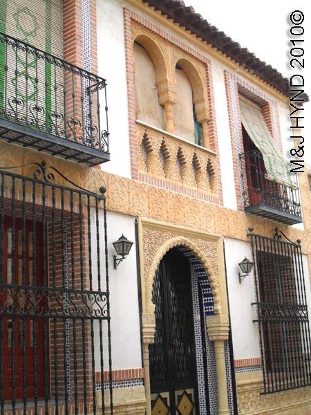 spain Archena Murcia Spa Resort town ancient Moorish buildings