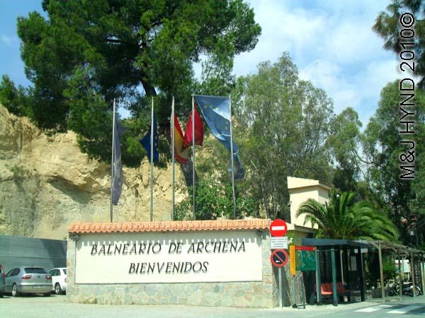 spain Archena Murcia Spa Resort Balneario de  Archena  mineral medicinal spring town