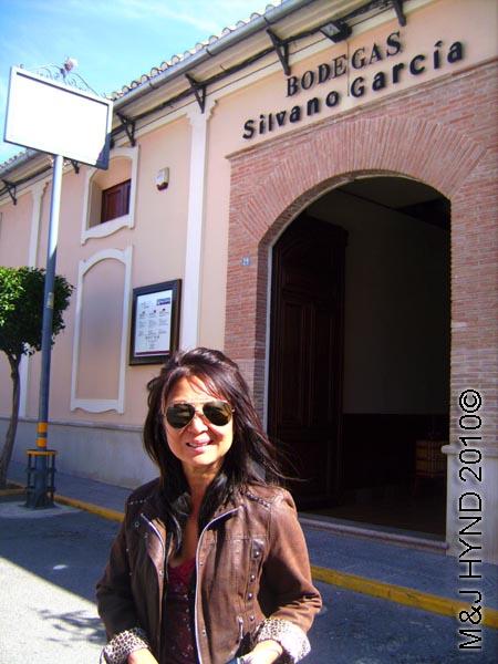 spain Jumilla, Murcia, wine route outside Bodegas Silvano Garcia wine tour