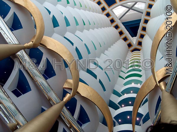 dubai: Burj Al Arab hotel, Dubai, UAE, Arabian Gulf, Jumeirah beach, spectacular steel marvel, architecture, opulent triangular shape, Arabian sailing ship