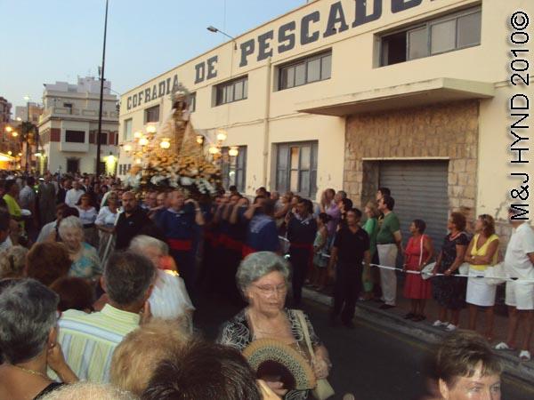 spain santa Pola Fiesta La Virgen del Carmen