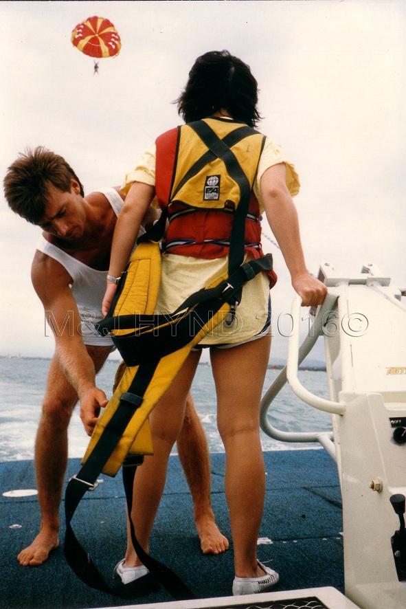 Pre-Stroke:: Parasailing, Australia 1988