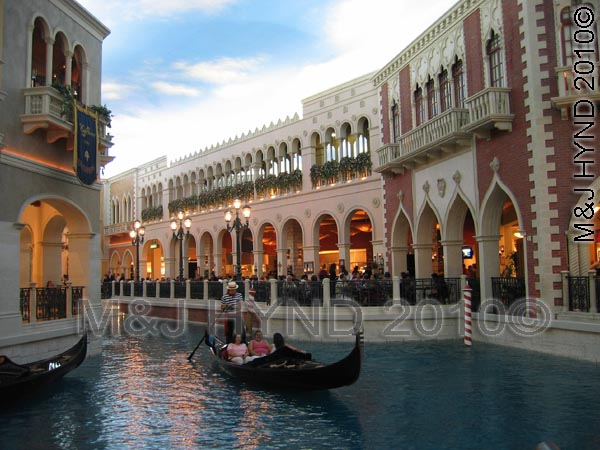 Lagoon in The Venetian, Las Vegas
