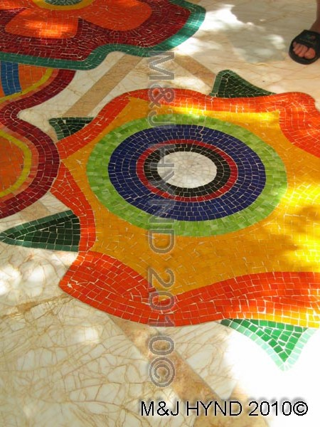 Mosaic floor, Wynns Casino, Las Vegas