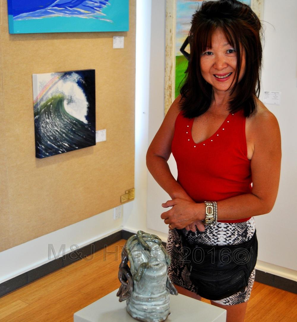 "The Estuary Arts Centre Exhibition 2011: my entry ...""MEDUSA"""