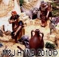 spain elche Belen Christmas celebration which depicts Bancaja Nativity Scene in miniature