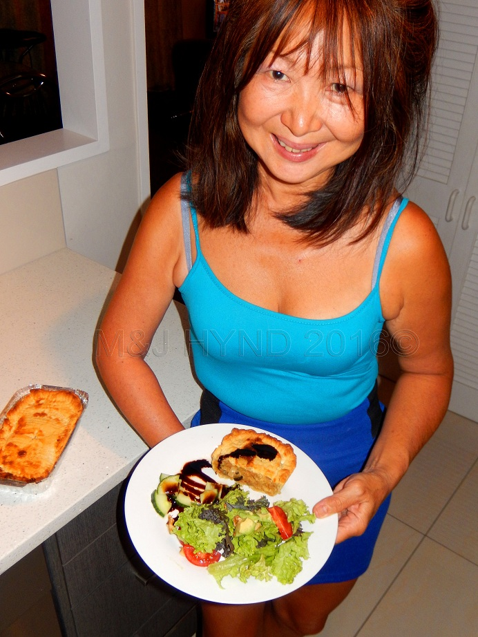 Jacqui Hynd: cooking with one hand