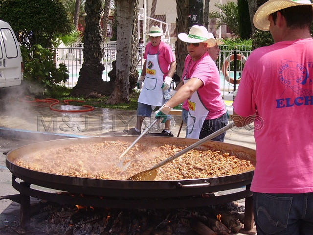Elche Fiesta: Arroz Con Costra (Large) #2