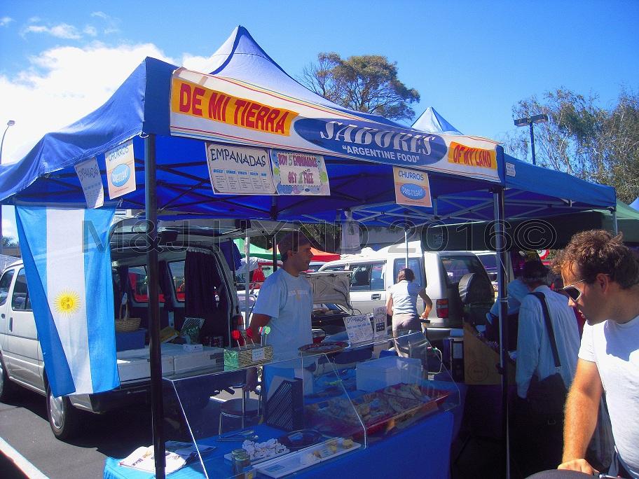 Argentinian cuisine, Takapuna Sunday Market, NZ