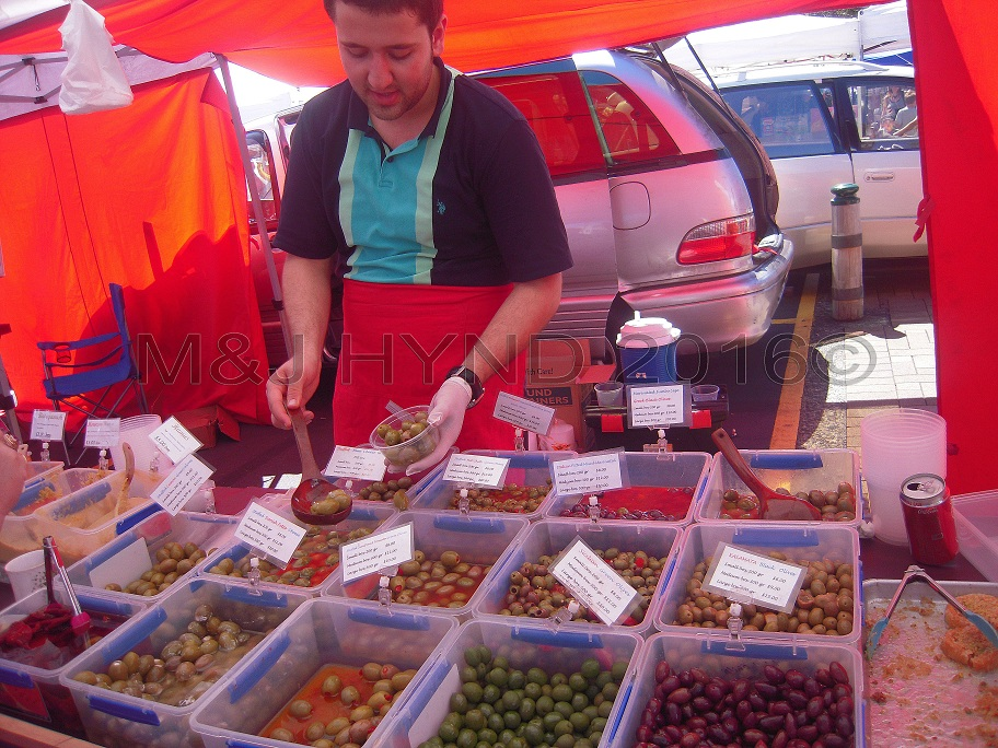local olives, Takapuna Sunday Market, NZ