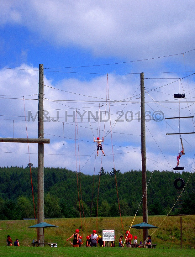 Rock+Ropes, high wire activity, Taupo, NZ