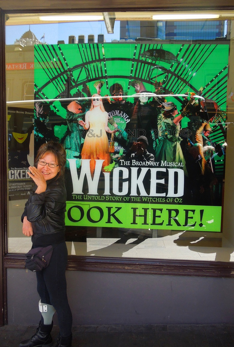 Civic Theatre, Wicked musical, Auckland, NZ