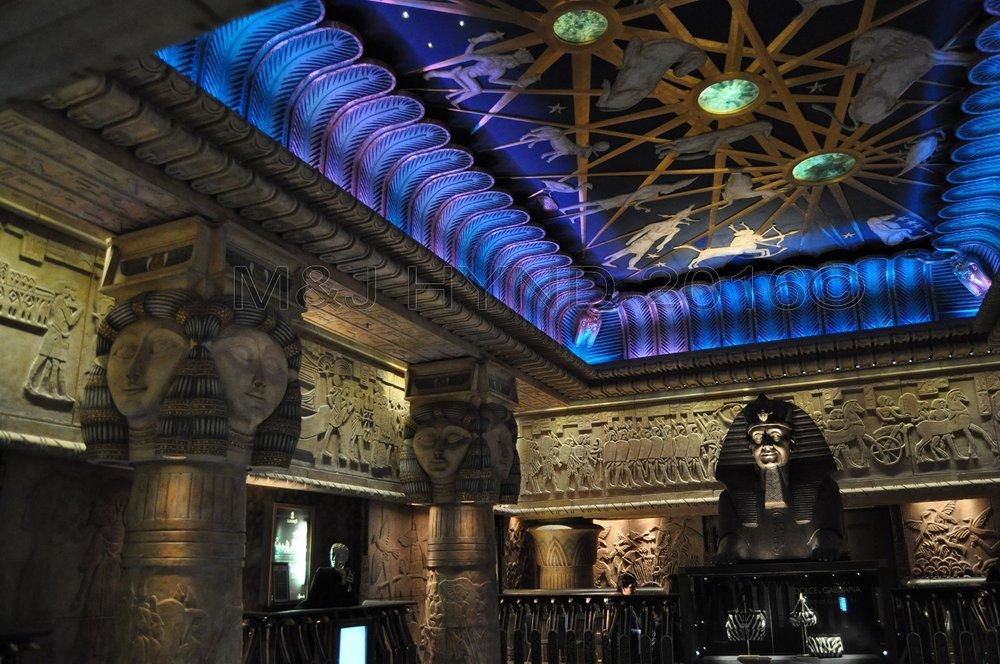 Harrods Egyptian Elevator, London, UK