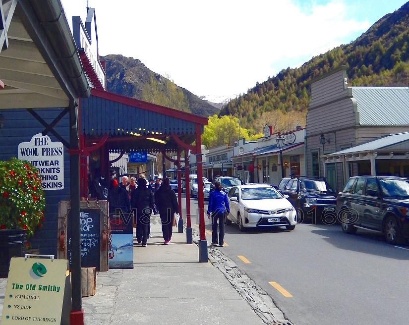 main street, Arrowtown, NZ
