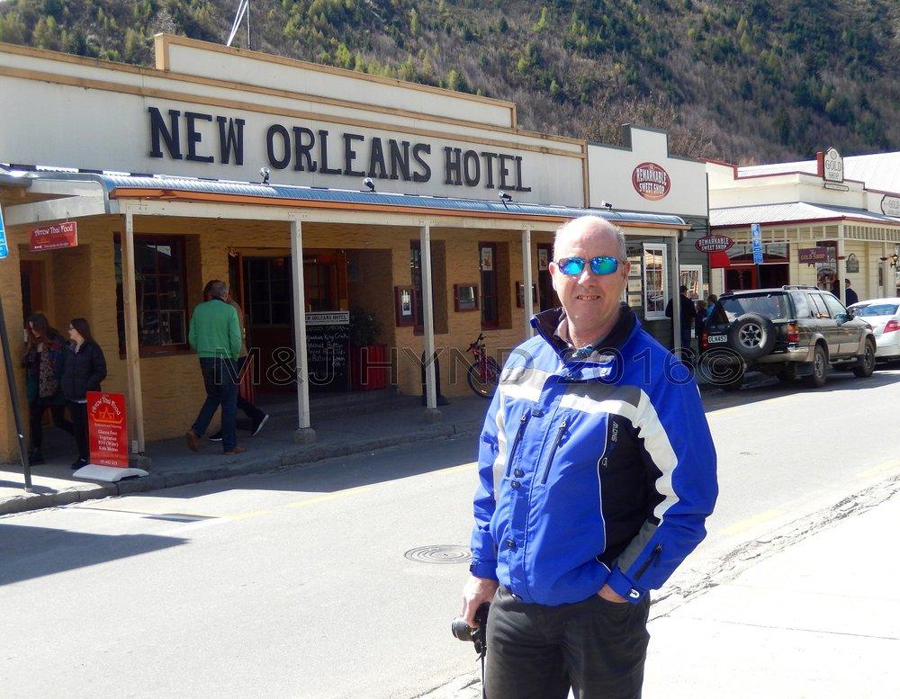 New Orleans Hotel on main street, Arrowtown, NZ