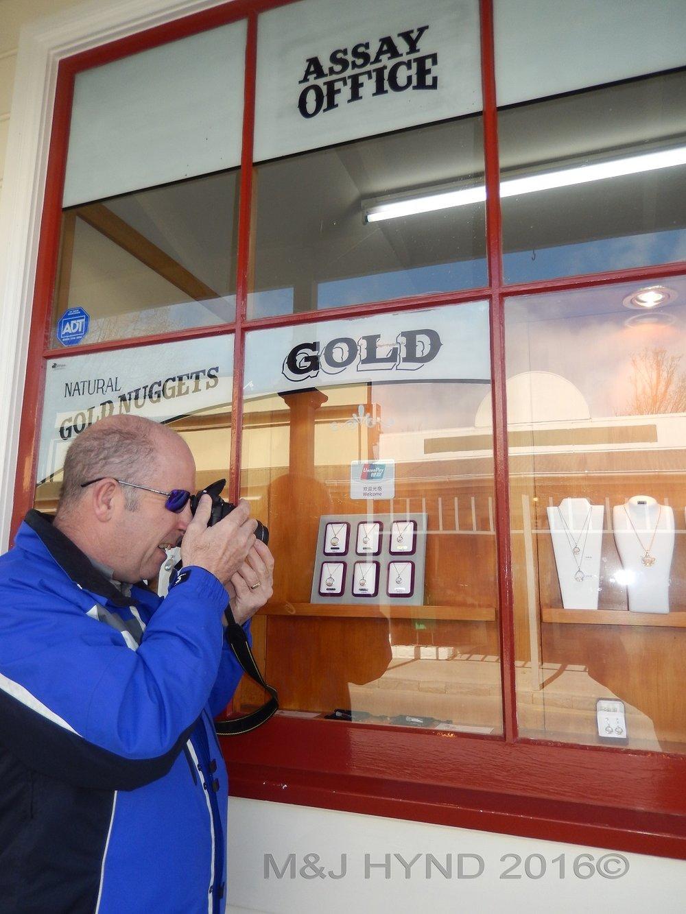 Gold assay office, Arrowtown, NZ
