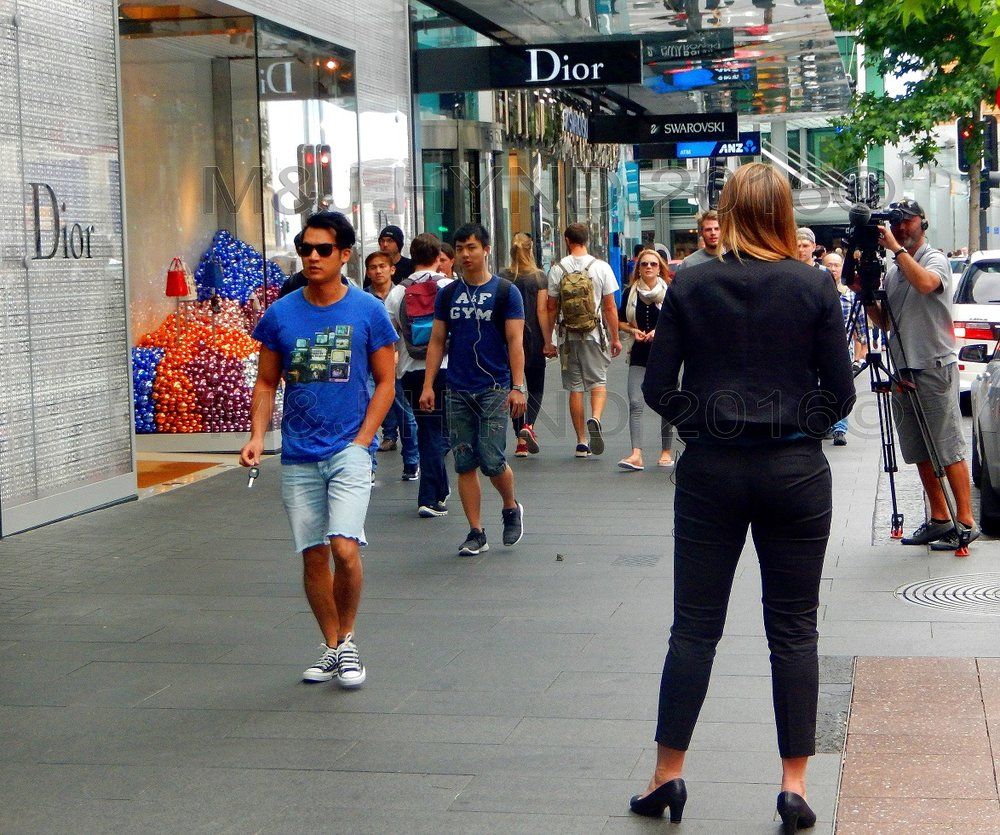 video production, Queen Street, Auckland, NZ