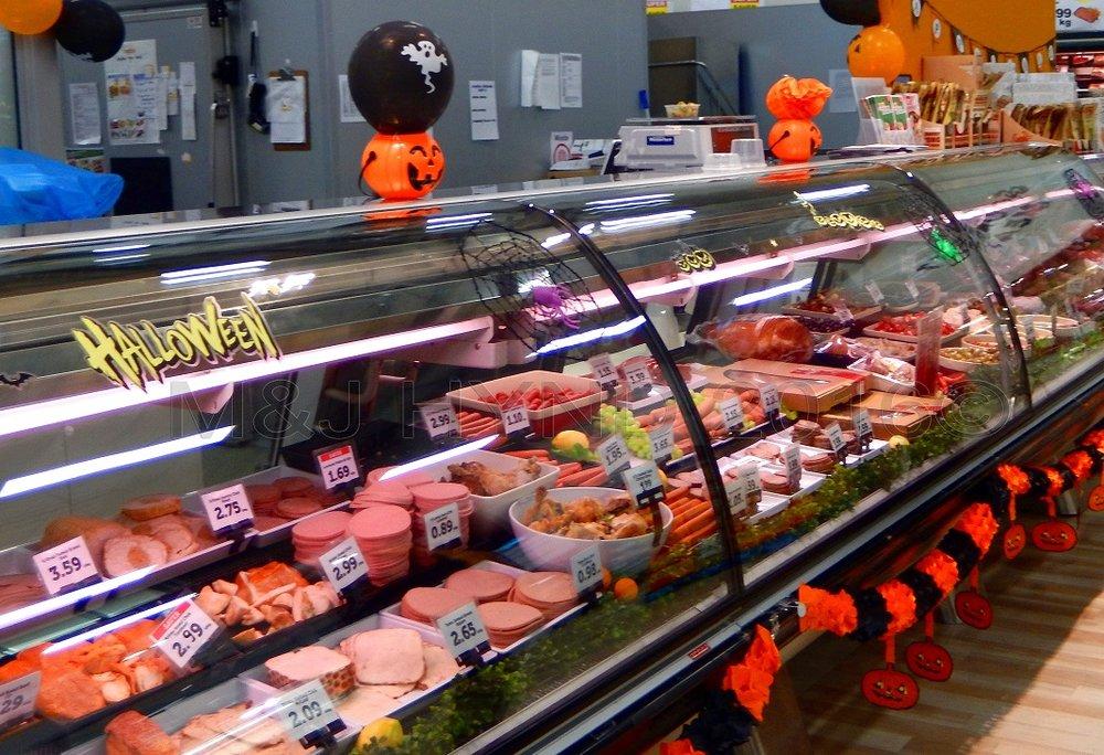 halloween on the delicatessen counter, Auckland, NZ