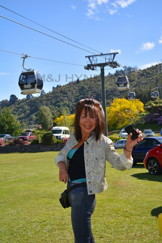 Skyline gondola and base station, Rotorua, NZ