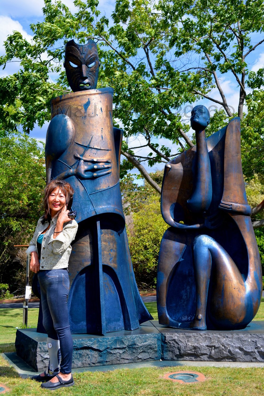 Government gardens Waitukei Sculpture, Rotorua, NZ