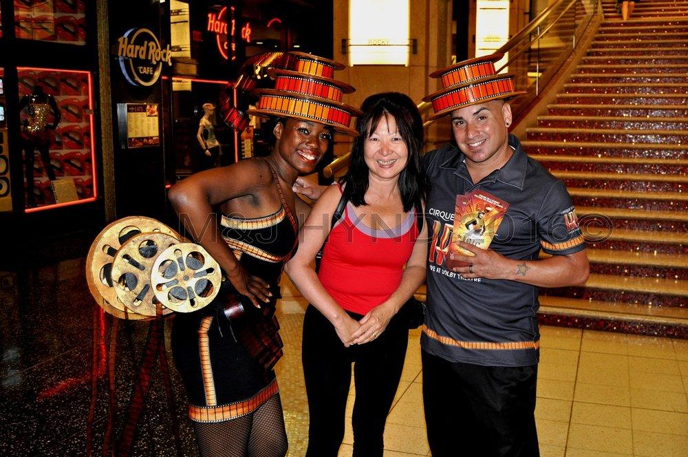Cirque du Soleil IRIS at the Kodak Theatre, Hollywood, LA, USA